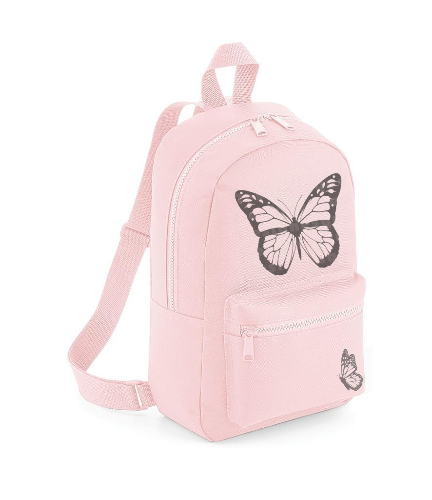 PINK BUTTERFLY BACKPACK