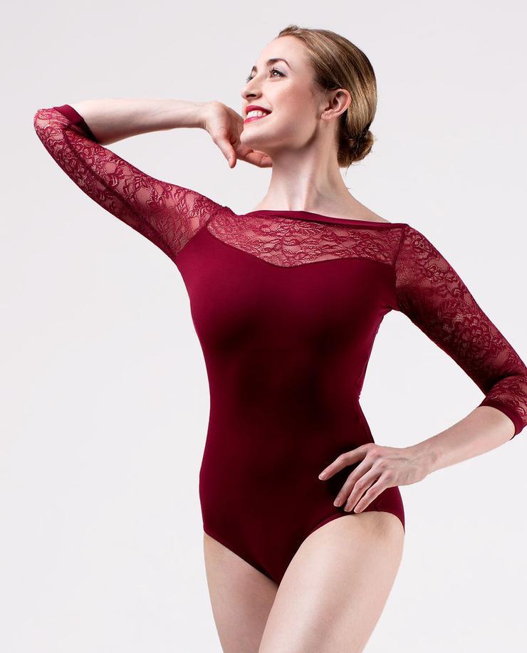 SO DANCA LONGSLEEVE - RED 10999